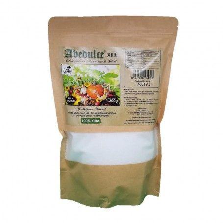 Azúcar de xilitol natural 1200gr - Abedulce | Parafarmacia Forsam