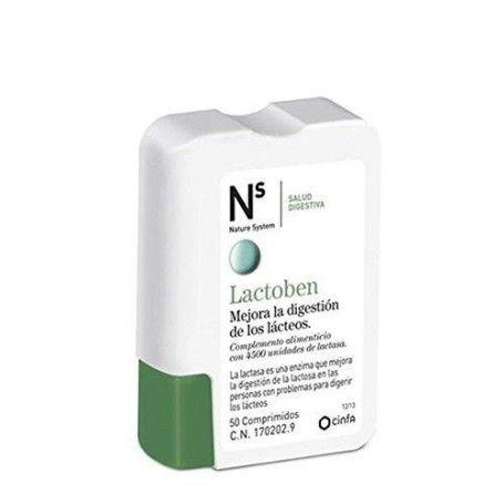 NS Lactoben 50 comprimidos masticables - NS Cinfa