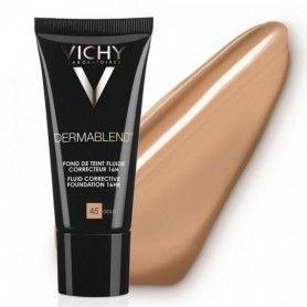Fondo de maquillaje fluido corrector Dermablend 45 Gold - Vichy