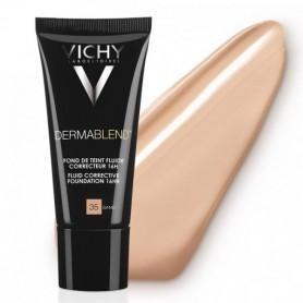 Fondo de maquillaje fluido corrector Dermablend 35 Sand - Vichy