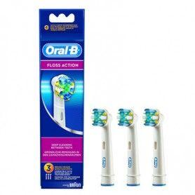 Recambio cepillo eléctrico Floss Action 3 ud. EB25-3 - Oral-B