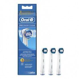 Recambio cepillo eléctrico Precisión Clean 3 ud. EB20-3 - Oral-B
