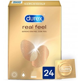 Preservativos Real Feel 24 - Durex