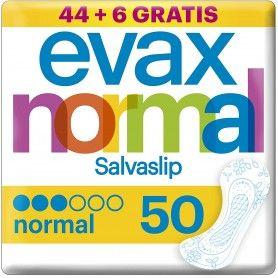 Evax Salvaslip Normal Protegeslips 50 unidades