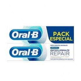 Pasta de dientes duplo Encías y Esmalte 2x100ml - Oral-B