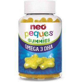Neo Peques gominolas Omega 3 y DHA sabor limón - Neovital Health
